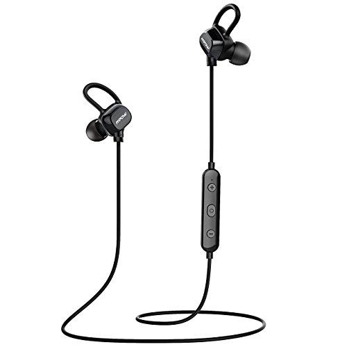 mpow bluetooth headphones wireless earbuds sport running headphones upgraded ipx5 splash proof. Black Bedroom Furniture Sets. Home Design Ideas