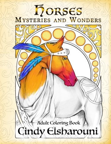 Dover Publications Wonderful World Of Horses Coloring Book This Is Guaranteed To Challenge You In A Good Way And Expand Your Skills Encourage