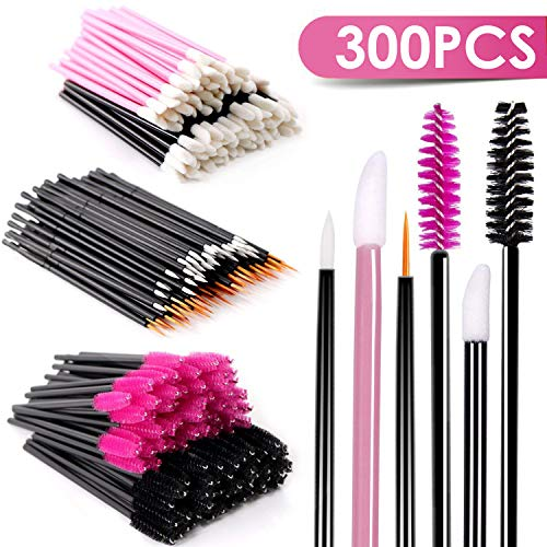 Specification material: fiber and plastic handle Eyeliner brushes length: 3. 5 inch/3. 6inch lip brushes length: 3. 1 inch mascara brushes length: 2.